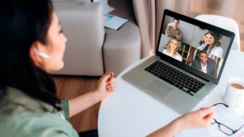 Seminarios web en línea