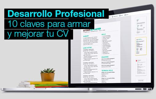 10 claves para armar y mejorar tu CV