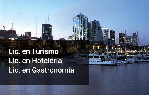 Ciclos de complementación curricular en Turismo, Gastronomía y Hotelería