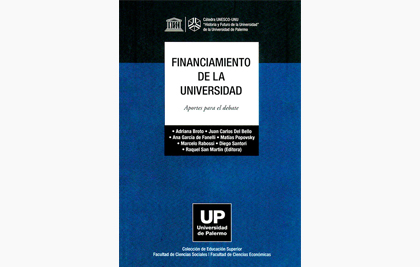 Financiamiento de la universidad